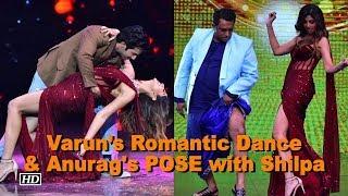 Varun's Romantic Dance with Shilpa & Anurag POSES with Shilpa - IANSINDIA