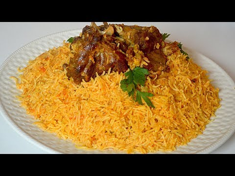 ارز باللحم سهل التحضير لذييييذ جدا كوجبة غداء او عشاء ولا اروع 😍😍
