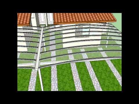 garagens 2 e 4 carros condominios   Policarbonato   Polysolution