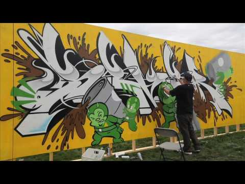 Ironlak x Known Gallery x Soundset Festival Minneapolis .