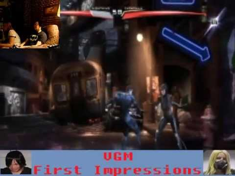 VGM First Impressions- Injustice Gods Among Us