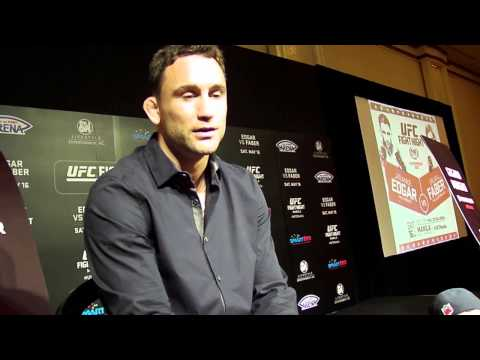 Frankie Edgar talks Urijah Faber, Reebok deal, McGregor vs Aldo and more