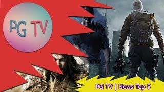 PG TV | News Top 5 - Игровые новости за 16.02.2015 (Doom 4, Uncharted 4 и многое другое!)