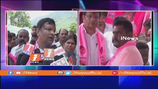 Huge People Join TRS In Presence Of Jalagam Venkat Rao In Bhadradri Kothagudem | iNews - INEWS