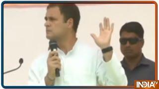 Rahul Gandhi ने UP में कहा, युवा अगर बिजनेस खोलना चाहता है तो उसे सरकार को रिश्वत देनी पड़ती है - INDIATV