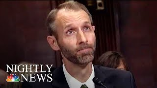 Doanld Trump's Judicial Nominee Struggles To Answer Questions At Hearing | NBC Nightly News - NBCNEWS