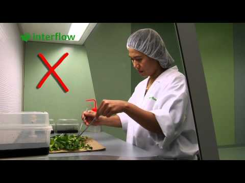 Instruction film ' Correct working in the Interflow cross flow unit'