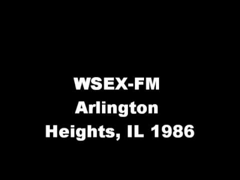 WSEX-FM Arlington Heights, IL  1986