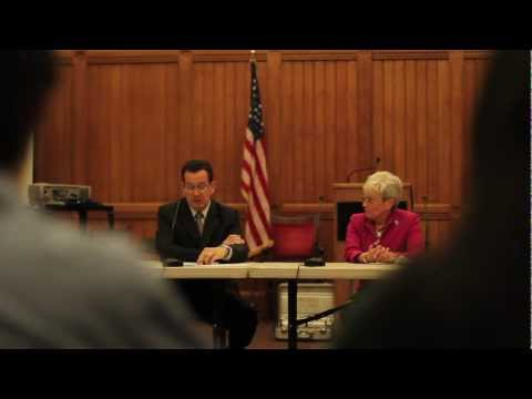 Governor Malloy speaks on the Education Bill