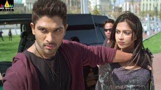Iddarammayilatho Movie Scenes | Allu Arjun Saves Amala Paul | Telugu Movie Scenes | Sri Balaji Video - SRIBALAJIMOVIES