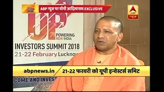 Expecting investment of three lakh crore after 'Investors Summit 2018', says UP CM Yogi Ad - ABPNEWSTV