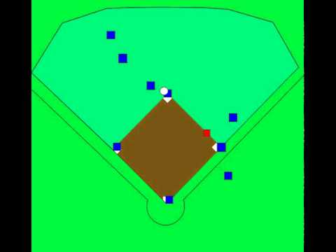 Baseball defense - Base Hit to LF