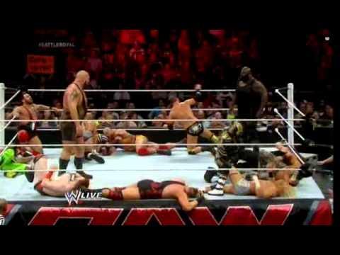 WWE Raw May 5 2014 20 man Battle Royal United States Title