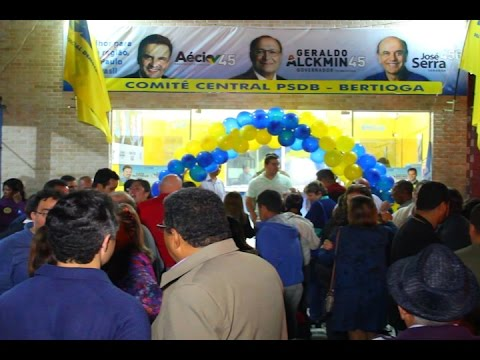 TV Costa Norte - PSDB Inaugura Comitê Central com Bruno Covas