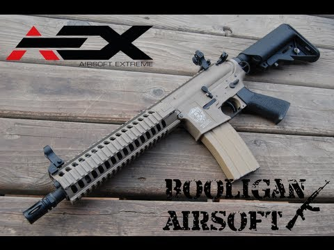 AEX Warfighter AX M4 AEG Overview