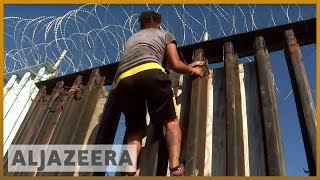 🇲🇽🇺🇸Mexico: Migrant caravan comes to a halt in Tijuana near US border | Al Jazeera English - ALJAZEERAENGLISH