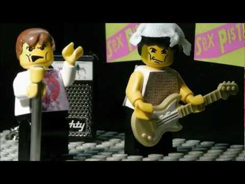 Happy Birthday Sid Vicious, Here's A Lego Tribute To The Punk Icons