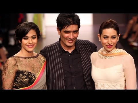 LFW 2013: Kajol And Karisma Kapoor Walk The Ramp