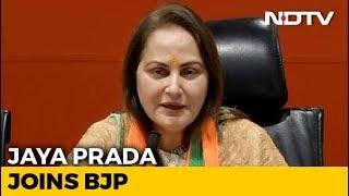 "Jaya Prada Joins BJP, Says ""Honoured To Work Under PM Modi's Leadership"" - NDTV"