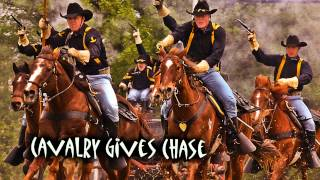 Royalty FreeAction:Cavalry Gives Chase