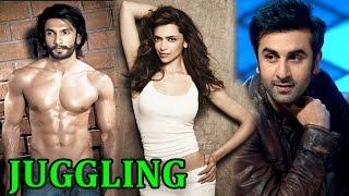 Deepika Padukone juggling with Ranbir Kapoor and Ranveer Singh | EXCLUSIVE