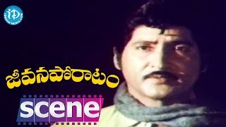 Jeevana Poratam Movie Scenes - Vijayashanti Fails To Meet Shobhan Babu || Rajinikanth - IDREAMMOVIES