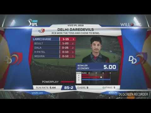 Sandip Lamichhane gets wicket in IPL debut against RCB