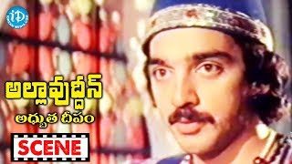 Allauddin Adhbhuta Deepam Movie Scenes - Allauddin Wants To Talk With Roshini || Kamal Hassan - IDREAMMOVIES