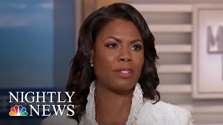 President Donald Trump Lashes Out At Omarosa Manigault On Twitter | NBC Nightly News - NBCNEWS