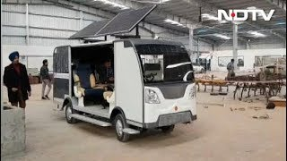 भारत में बनी बिना ड्राइवर की बस - NDTVINDIA