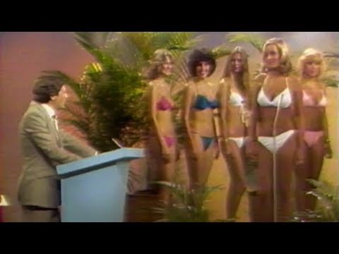Wayne Cox hosts 1981 bikini contest