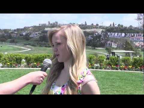 Sierra McCormick Interview at La Costa Memorial Day Celebration