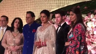 T Subbarami Reddy Blessed Priyanka Chopra & Nick Jonas at Reception In New Delhi | TFPC - TFPC