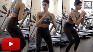 Deepika Padukone's HOT 'XXX' Workout Video | LehrenTV