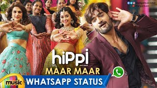 Maar Maar Song WhatsApp Status Video | Hippi Movie Songs | Kartikeya | Digangana | Shraddha Das - MANGOMUSIC