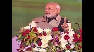 Prime Minister Narendra Modi's address in Sonia Gandhi's bastion Raebareli - NEWSXLIVE