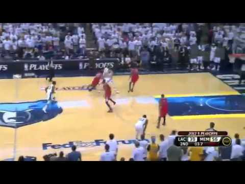 NBA Playoffs 2012: Los Angeles Clippers Vs Memphis Grizzlies Game 1 Highlights (1-0)