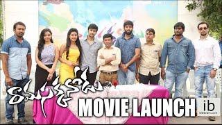 Ramasakkanodu Movie launch - idlebrain.com - IDLEBRAINLIVE