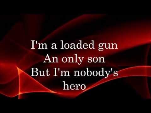 Nobody's Hero-Black Veil Brides lyrics