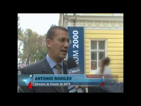Activistas cubanos participan en FORO 2000
