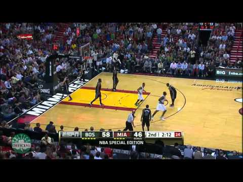 Rajon Rondo Highlights vs.Miami Heat 4/10/2012 - 18 points, 15 assists [HD]