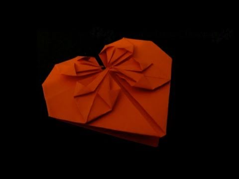 valentines origami. How to fold: Valentine Origami