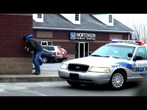 Epic Shake Weight Prank On Cops
