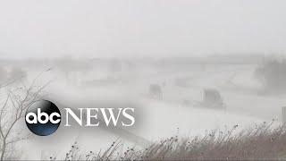 Interstates shut down as blizzard pummels the Heartland - ABCNEWS