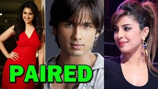 Parineeti Chopra paired with Shahid Kapur for their next film!! | Bollywood News