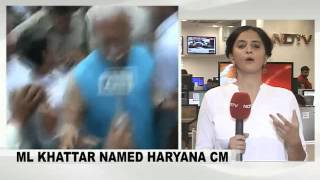 Manohar Lal Khattar to be next Haryana Chief Minister - NDTV