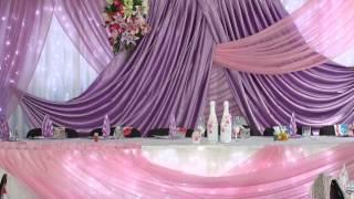 Украшение залов! Оформление свадьбы.