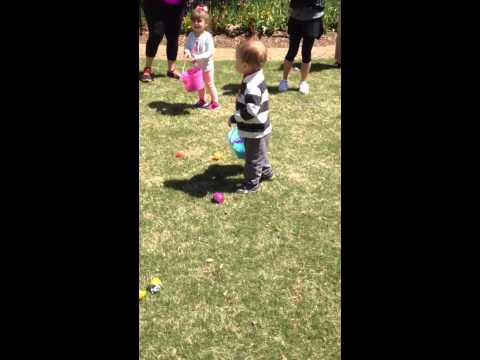 Nate Easter egg Hunting