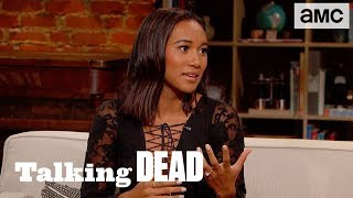 'Sydney Park on Maggie is the Catalyst for Saviors' Killings'  Highlights Ep. 903   Talking Dead - AMC