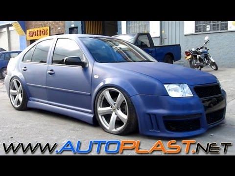 • AutoPlast BodyWorX • Jetta MK4 - BodyKit - Suspensión Neumática - Forrado completo 3M